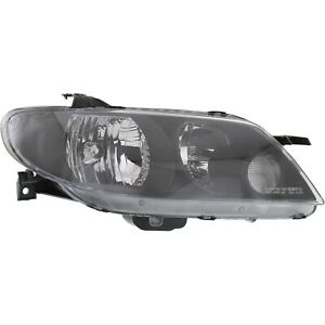 Headlight For 2002 2003 Mazda Protege5 Right With Metal Coat Bezel