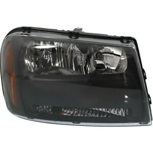 Headlight For 2006 2009 Chevrolet Trailblazer Lt 2006 Trailblazer Ext Rh W Bulb