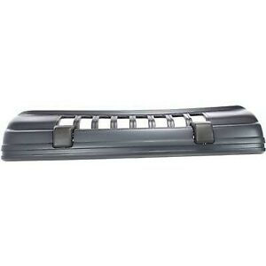 Bumper Cover For 93 95 Jeep Grand Cherokee Limited Front With Fog Light Holes