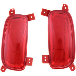 Bumper Reflector Set For 2014 2015 Kia Sorento Left Right 2 Pcs Capa