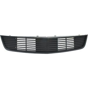 Grille For 2012 Ford Mustang Matte Black Plastic