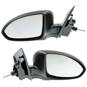 Kool Vue Manual Remote Mirror Set For 2011 2016 Chevy Cruze Left