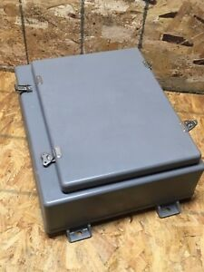Robroy N20166wt Control Enclosures Fiberglass 23x17x8 Latched Down Cover Type 4x