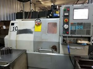 Used Haas Sl 10 Cnc Lathe 2005 5c Collet Chuck Chip Auger Cheap