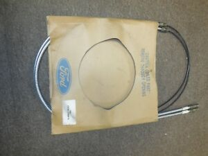 Nos 1988 1989 Ford Mustang Parking Brake Cables E8zm 2a809 A
