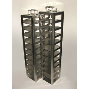 25 And 26 X 5 5 X 5 5 Inch Stainless Steel Cryogenic Freezer Storage Racks