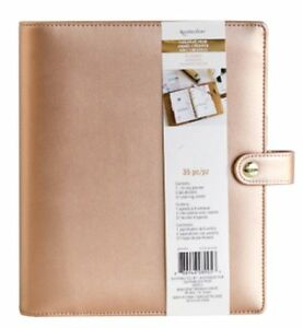 New Recollections Creative Year A5 Planner Binder Rose Gold 6 Ring Michaels