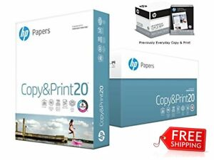 Hp Printer Paper Suitable Copiers Printers Fax Machines Quick Dry Ink 40 Cases