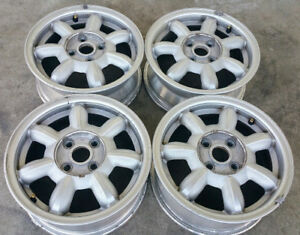 1990 1992 Mazda Mx 5 Miata 14 Inch Alloy Wheels Rims 64722 Oem Set Of 4 Used