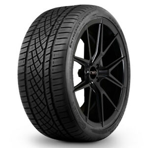 2 New 225 45zr17 R17 Continental Extremecontact Dws06 91w Bsw Tires