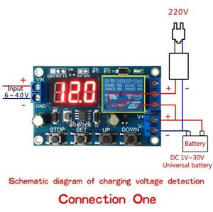 1 10pcs Battery Charger Discharger Board Under Over Voltage Protection Module