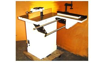 Accura 02314 1 1 4 Inch 3 Hp Sliding Table Shaper wood Shop Monster