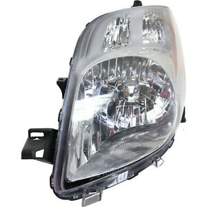 Headlight For 2007 2008 Toyota Yaris Rs Le Ce 2008 Yaris S Hatchback Left