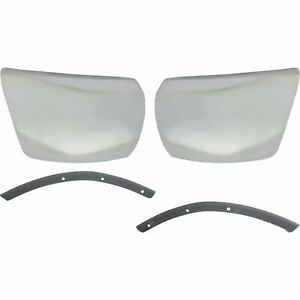 Bumper End Kit For 2012 2013 Chevrolet Silverado 1500 Front Left And Right 4pc