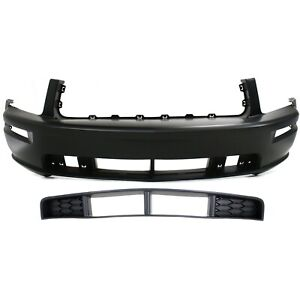 Capa Auto Body Repair For 2005 2009 Ford Mustang Front Bumper Cover And Grille