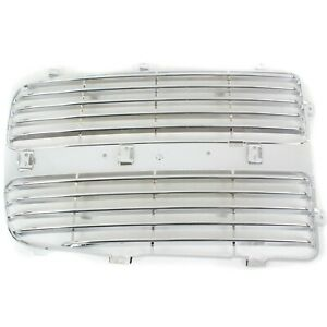 Grille Insert For 2002 2005 Dodge Ram 1500 2003 2005 Ram 2500 Lh Chrome Plastic