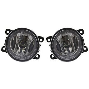 New Fog Lights Lamps Set Of 2 Driver Passenger Side Fo2592217 4f9z15200aa Pair