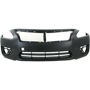 New Primered Front Bumper Cover Fascia For 2013 2014 2015 Nissan Altima Sedan