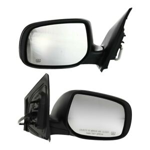 New Set Of 2 Mirrors Driver Passenger Side Heated To1321247 To1320247 Pair