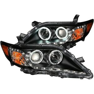Anzo 121442 Headlight For 2010 2011 Toyota Camry Sedan Left And Right With Bulb