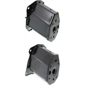 Bumper Bracket For 2012 Honda Civic Set Of 2 Front Driver And Passenger Side