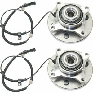 2009 2010 Ford F 150 4 2l 4 6l 5 4l Front Wheel Bearing And Hub Pair 4wd 6 Lug