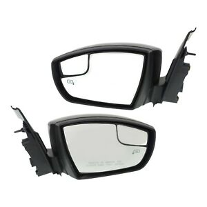 Kool Vue Power Mirror Pair For 2013 2016 Ford Escape Htd Pto Match W Mem Folding