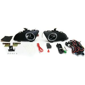 Fog Light Kit For 2003 2005 Mazda 6 Lh Rh Clear Lens Sedan Models