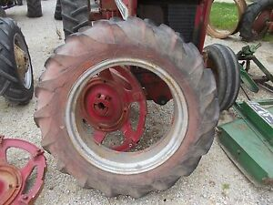 Allis Chalmers Styled Wc Tractor 12 4 X 28 75 Tread Goodyear Tire
