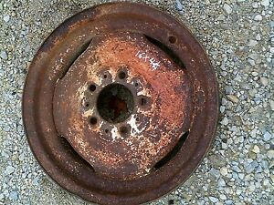 Allis Chalmers Ac D14 Tractor 4 1 4 X 16 Front Ac Rim To Use With Tire
