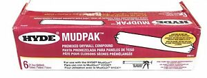 Hyde Mudpak 09614 Premixed Drywall Casing Compound pack Of 6 Repair Patching