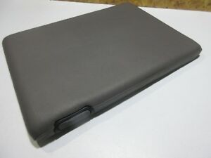 94 01 Dodge Ram 1500 2500 Grey Center Console Lid Jump Seat Arm Rest 21