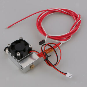 3d Printer Hot End 2 In 1 Out Double Color Extruder Single Head 12v 24v