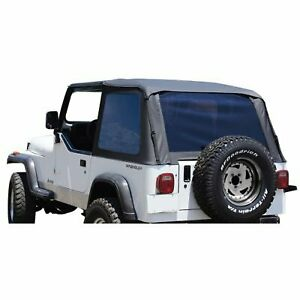 Rt Off road New Soft Top Black Jeep Wrangler 1992 1995
