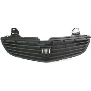 Grille For 99 2001 Honda Odyssey Textured Black Plastic