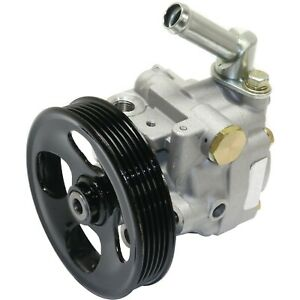 Power Steering Pump With Pulley Fits 2003 2007 Subaru Forester 2 5l
