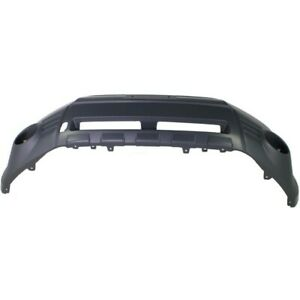 Front Bumper Cover For 2009 2013 Subaru Forester W Fog Lamp Holes Primed Capa