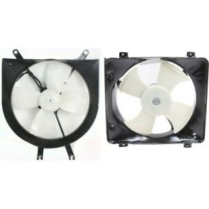 Radiator Cooling Fan W A c Condenser Fan For 96 98 Honda Civic Lh