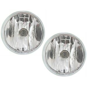 Fog Light Set For 2007 2014 Chevy Tahoe 2015 17 Silverado 2500 Hd Front Capa 2pc