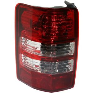Tail Light For 2008 2012 Jeep Liberty Lh Capa