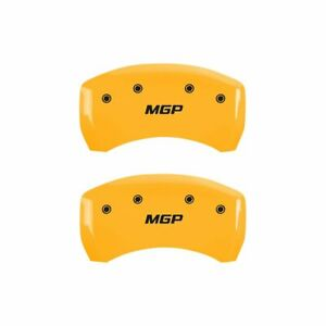 Mgp 10010rmgpyl Caliper Cover Yellow Powdercoat Aluminum Direct Fit
