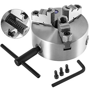 10 10 Inch 3 Jaw Self Centering Lathe Chuck Front Mount In Prime Quality New