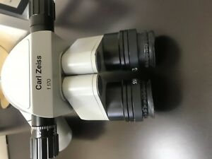 Carl Zeiss F170 Binoculars With Arm For Opmi Microscope