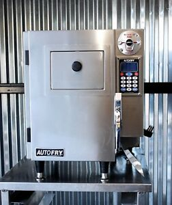 Autofry Automated Countertop Hoodless Ventless Electric Fryer Mti 5 Commercial