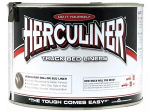 Herculiner Hcl1b7 Bedliner Brush On 1 Qt Each