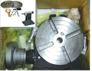 Vertex Hv 8 8 H v Rotary Table dp 2 ts 2 Package W dividing Plates tail Stock