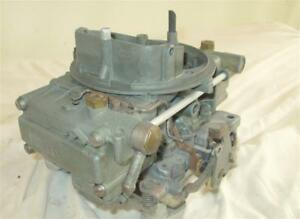 Oem Gm Holley Carb List 3367 1966 Corvette 327 300hp 350hp L79 Dated 661 Awesome
