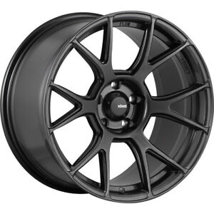 19x8 5 Gray Konig Ampliform Wheels 5x4 5 45 Fits Mitsubishi Galant Lancer