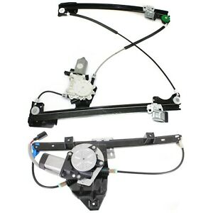 Window Regulator Set For 2002 05 Land Rover Freelander W Motor Front Rear Rh 2pc
