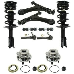 Control Arm Kit For 99 2005 Chevrolet Cavalier Set Of 10 Front Left And Right